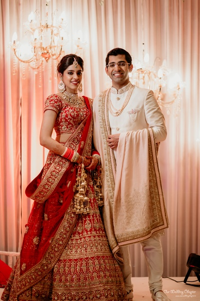 Mr. and Mrs. Anant surely complement each other