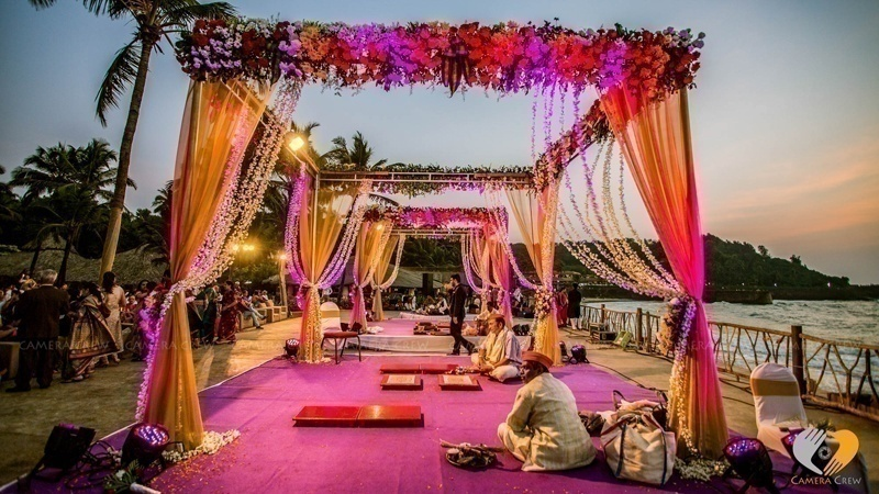 Goa destination wedding planning diaries real couples show us the goa destination wedding dcor junglespirit Gallery