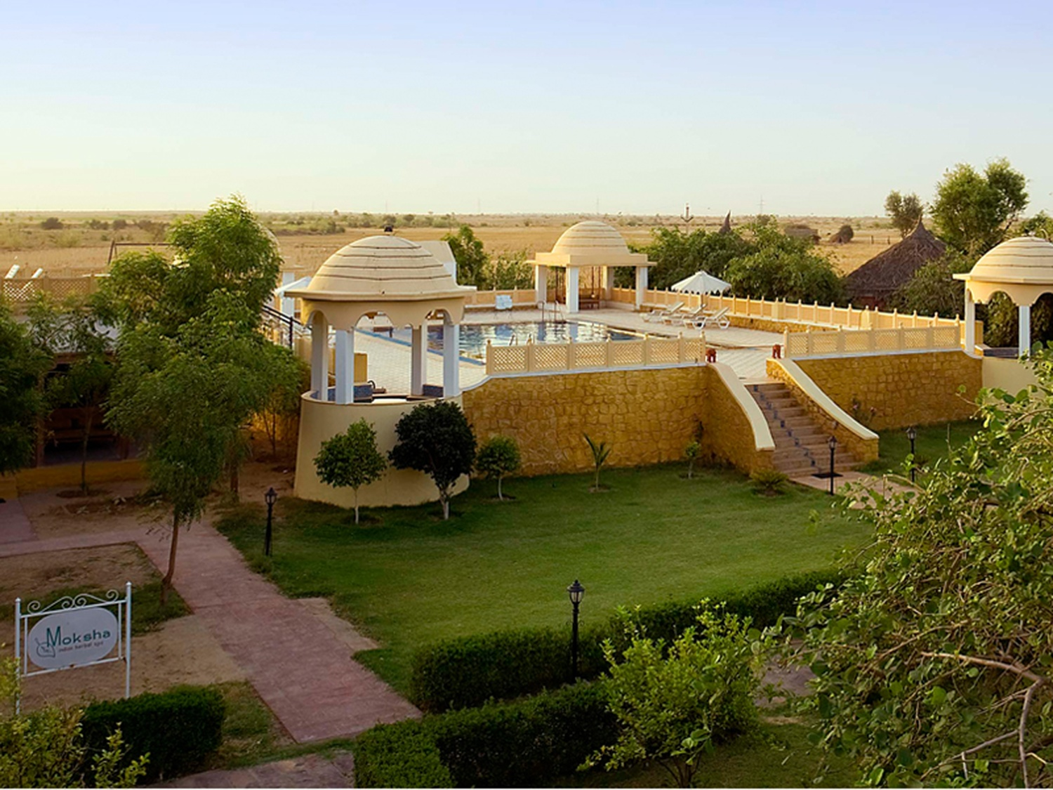 Mirvana Nature Resort Nh 8 Jaisalmer Banquet Hall Wedding Lawn