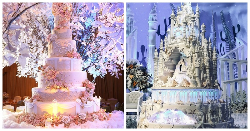 8 Extravagant Wedding Cakes that will Make Your Jaws Drop!
