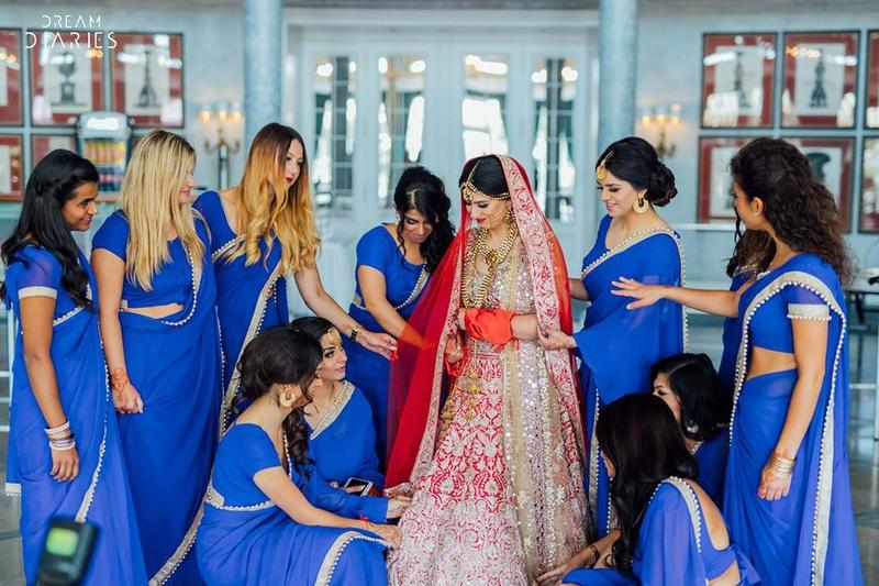 Thiva & Gunjan Hamburg : International Destination Wedding Held In Germany With A Fusion Of Colour & Class !