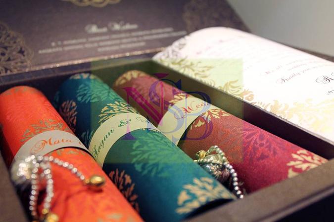 Neha Singh Bhatia Invites | Delhi | Invitation Cards