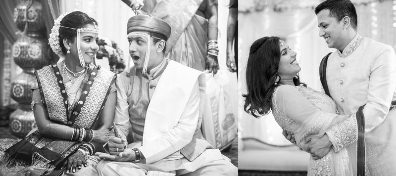 Ameya & Anuradha Mumbai : Black and White Maharashtrian Wedding held at Shree Gurjar Sutar Vishwakarma Baug, Vile Parle