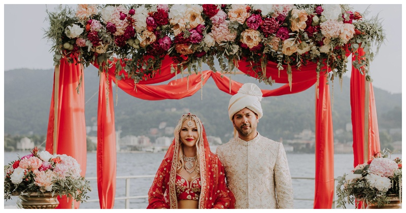 This couple tied the knot in Lake Como where the #Deepveer wedding is rumoured to take place!