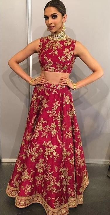 8. Deepika wore this red lehenga for her performance in IIFA 2016, but that doesn't mean you can't steal this look!