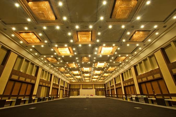 Green YMCA Banquets And Lawn Makarba Ahmedabad - Banquet Hall