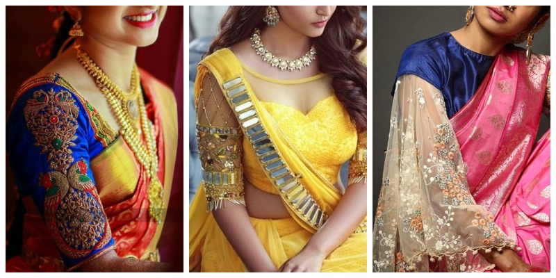 25 blouse sleeves designs every bride needs to check out before going to the tailor!