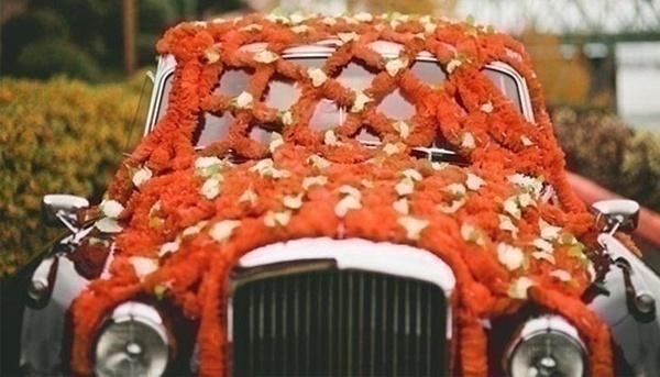 Indian weddings minus genda phool - Never!