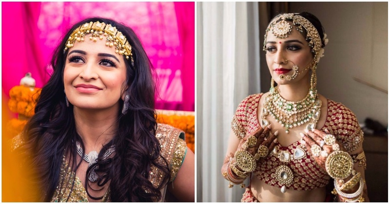 Bride Of The Week: This Bride's Wedding Jewellery Is Statement Bridal Fashion For All Indian Weddings
