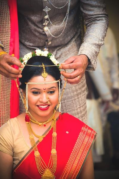 Gold Maharashtrian style Mangalsutra