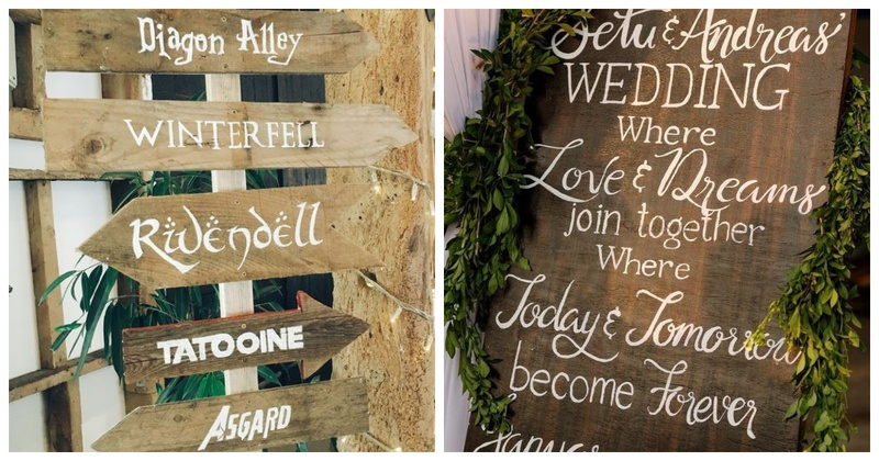 7 Wedding Signages That Won Our Hearts!