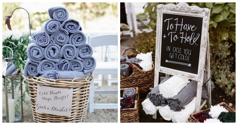 5 Tips to Keep your Guests Warm at a Winter Wedding