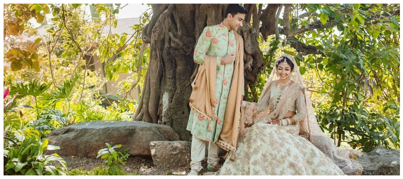 Asad & Taseer Nashik : We have fallen in love with this colour coordinated couple's Nikah and you will too!