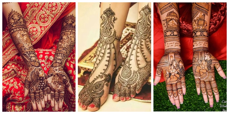 Bridal mehndi designs which are absolutely fresh and unique!