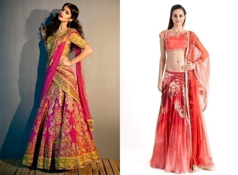 Best Stores To Buy A Bridal Lehenga Choli Online Prices Details And More Bridal Wear Wedding Blog