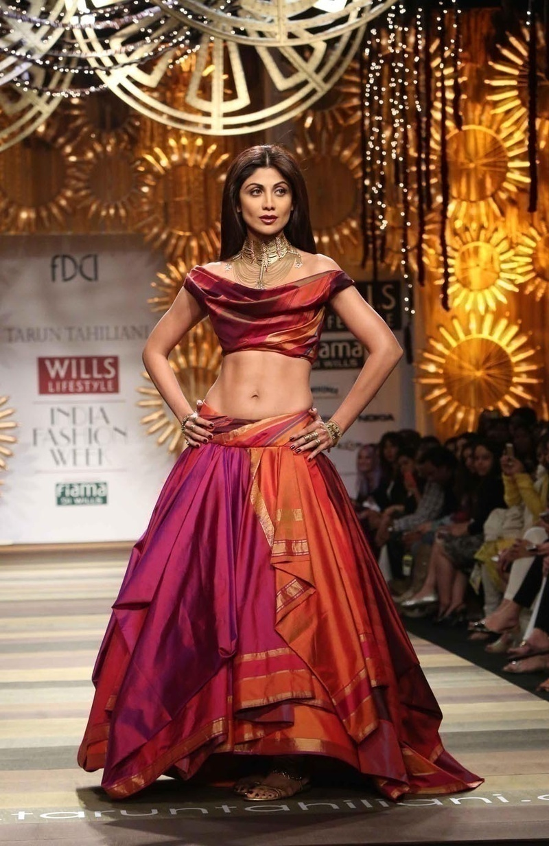 Sarees can be made into skirts
