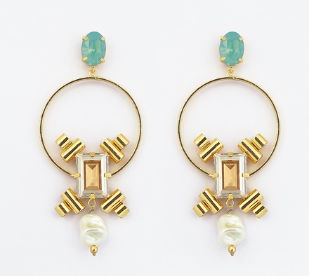 Contemporary Styled Earrings