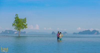 Magical pre wedding photo shoot in Krabi, Thailand
