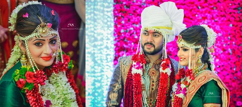 Samart &  Aishwarya Mumbai : An Exquisite Maharashtrian Wedding Celebration with Breathtaking Decor