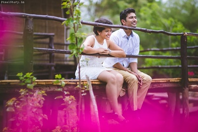 Candid pre wedding shoot by PixelStory.in
