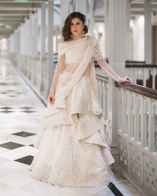 ladies indo western gown cheap online