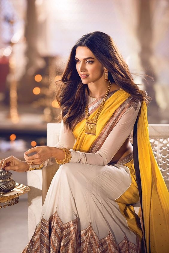 10 lehenga and saree looks on Deepika Padukone which ...