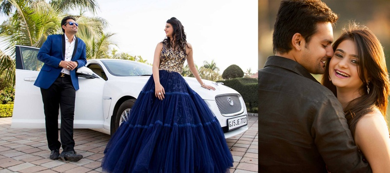 Akshay & Aarohi  Surat : Extravagant Engagement Ceremony held at 72 Villa, Surat
