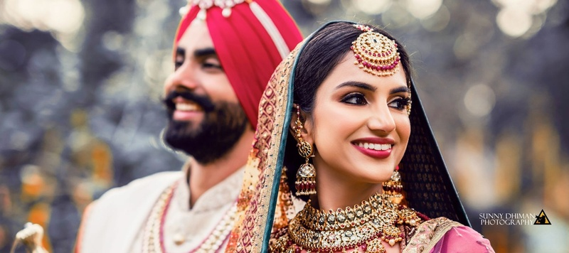 Dilshad & Sandeep None : A dreamy Sikh wedding where the bride and groom wore the most stunning outfits!