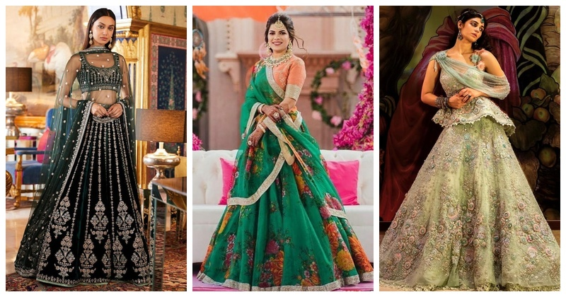 Navratri #Day7- Green Colour Inspiration for Brides