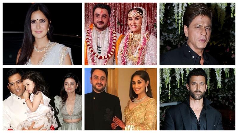 Shah Rukh Khan, Salman Khan, Hrithik Roshan, Katrina Kaif add stardust to Poorna Patel's Reception in Mumbai!