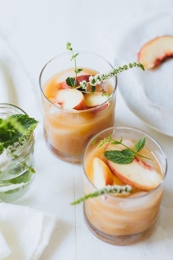 White Peach Margaritas