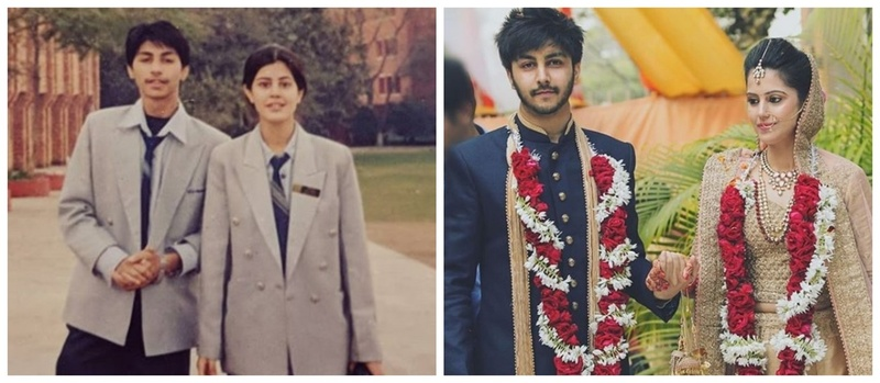 Famous Bollywood singer, Arjuna Harjai got married to his high-school sweetheart & their wedding pics are too cute to handle!