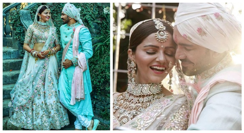 5b3fbf98f16 Rubina Dilaik and Abhinav Shukla tied the knot in the most beautiful  fairytale ceremony in Shimla!