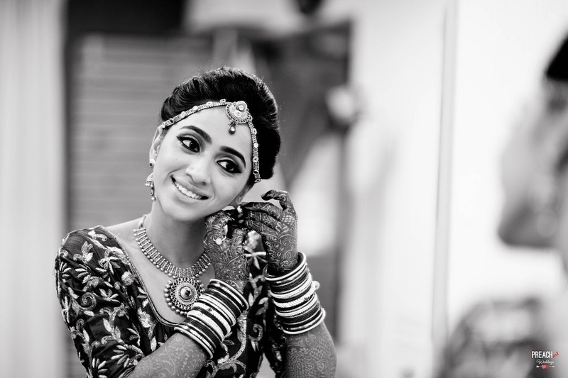 10 Black And White Bridal Photos That Prove There S Magic In