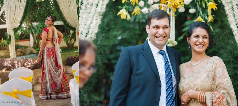 Dhruv  & Nayantara Pune : Tasteful Backyard Wedding held in Pune