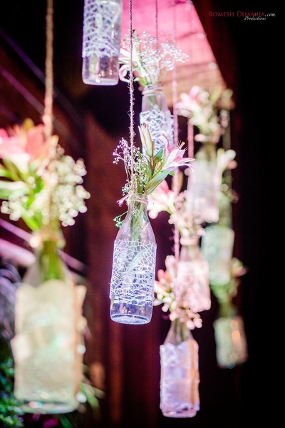 Quirky floral decor ideas for the sangeet function at Della Resorts, Lonavala