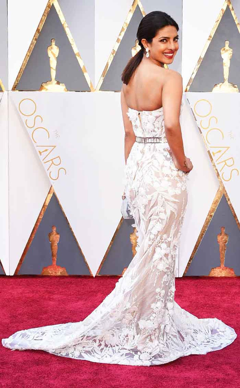 Will These Be The New Bridal Trend? Stunning White Gowns Spotted at ...