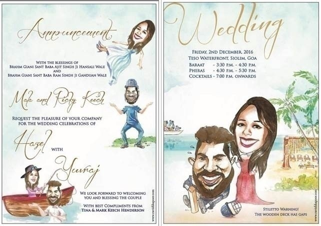 1. E-invites over paper usage. Quirky designs and customization by couple instead of parents.