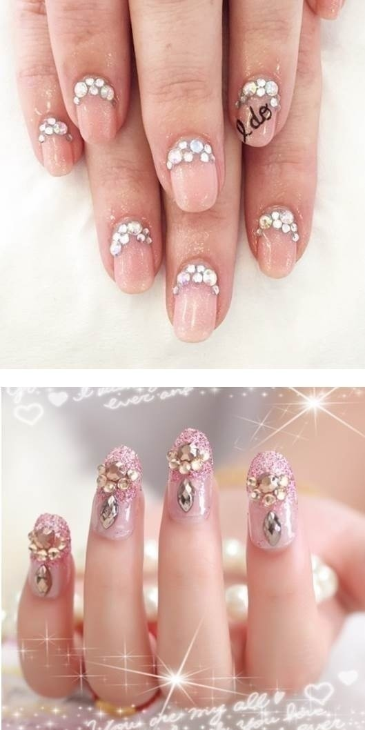 50 Stunning Bridal Nail Art Designs To Rock At Your Wedding Blog