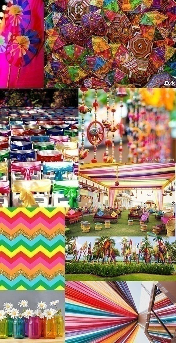 Indian Wedding Color Themes Summerweddingseries Blog