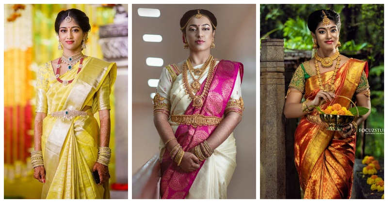 20 Pattu Saree Latest Trends for South Indian Brides