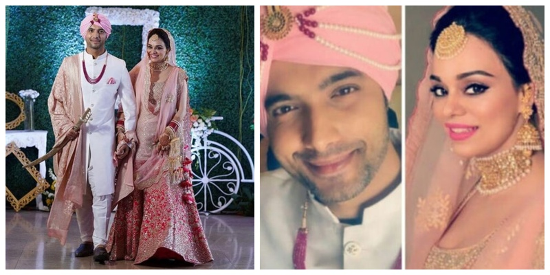 Sharad Malhotra tied the knot to Ripci Bhatia and I am drooling over their wedding pictures!