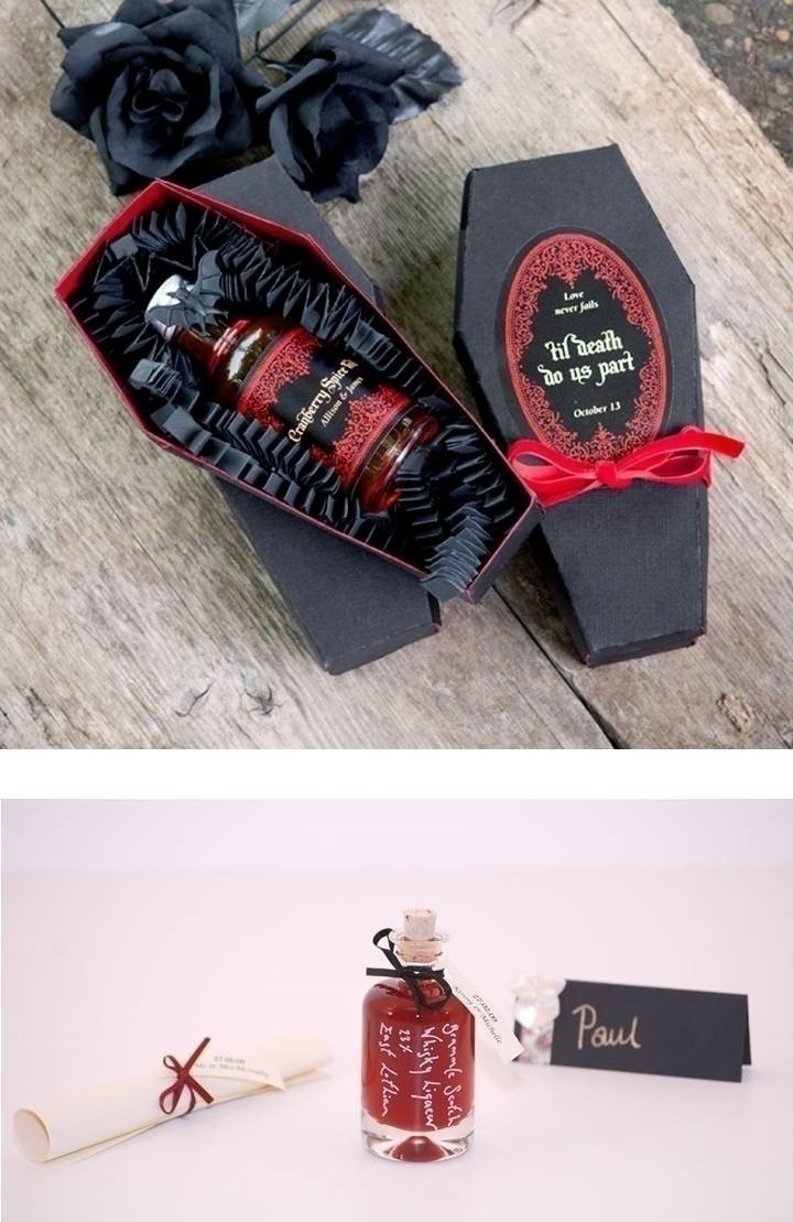 Spooky Wedding Favors Topsimages