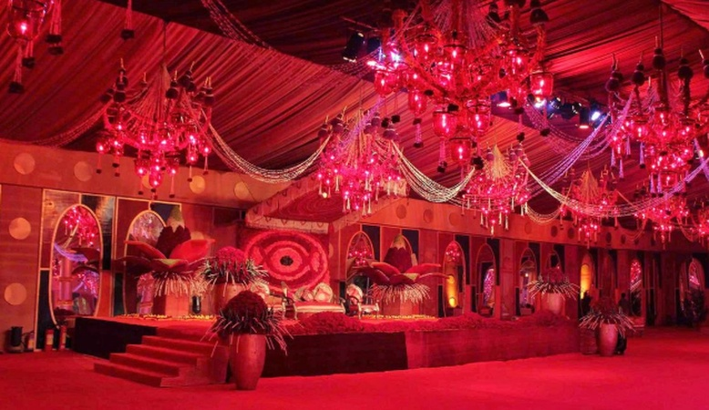 Garhi Oudhiyana Party Lawn and Banquet Mohanlalganj Lucknow - Banquet Hall