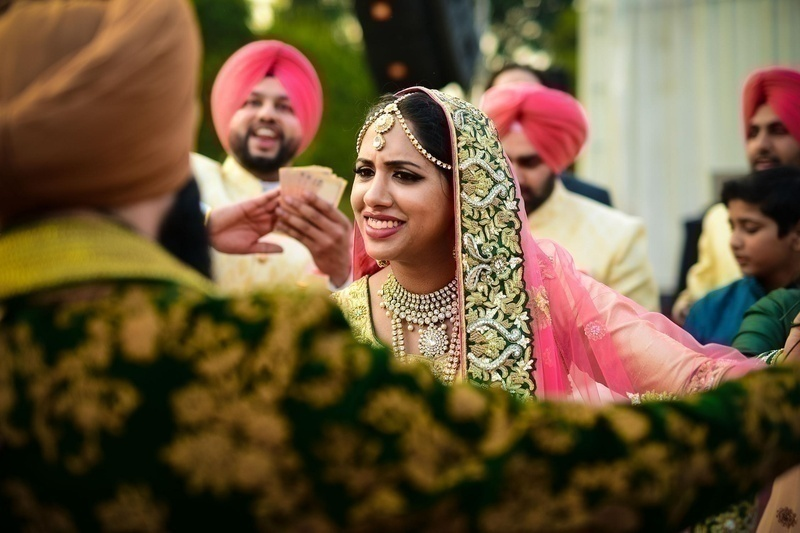 Stunning Sikh Wedding at Hyatt Regency, Ludhiana with Inspirations from the West!