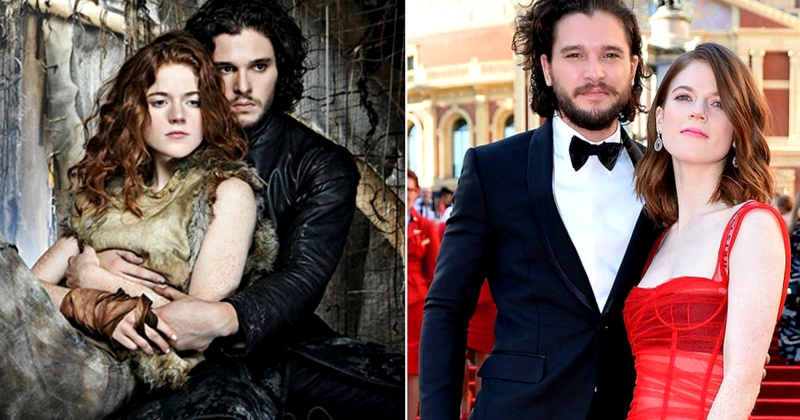 Ofcourse Kit Harington aka 'Jon Snow''s wedding invites were Game Of Thrones themed!