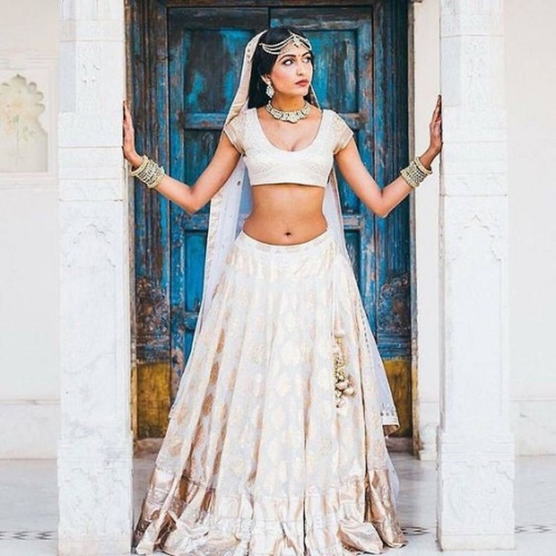 cdd2f64ce9b 5 Minimalist Bridal Lehengas That Are Perfect for Summer Weddings ...
