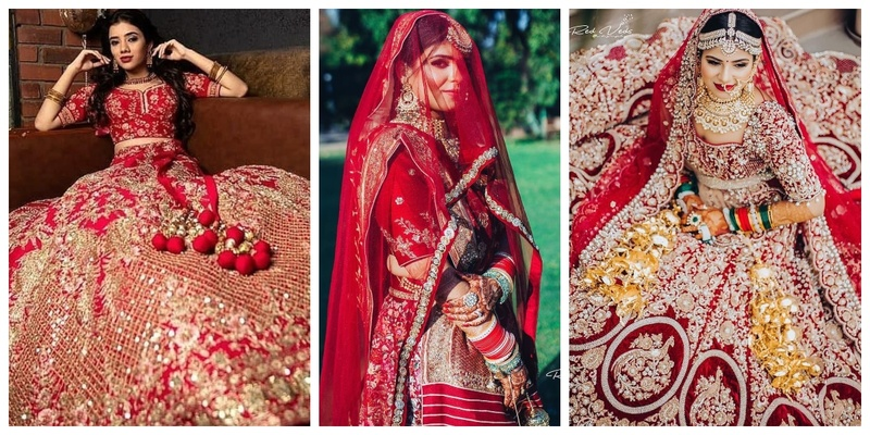Bridal Red Lehengas that are Every Bride's Dream!