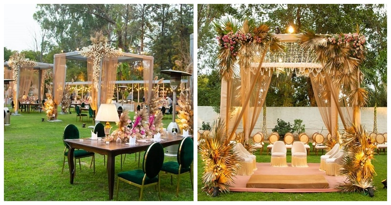 This Boho-Chic Mandap is Apt for an Intimate Wedding