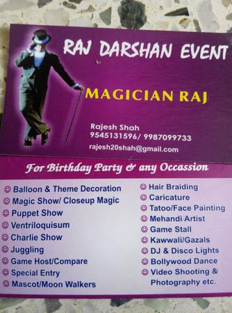 Raj Darshan Events   Mumbai   Anchor Mc